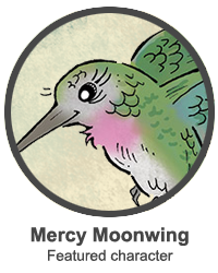 Featured character: Mercy Moonwing